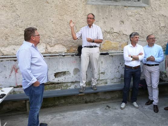 Jürg Schärer (oben), Präsident Argovia Philharmonic, sagt: «Wir sind übeglücklich, dass wir in relativ kurzer Zeit in die Alte Reithalle einziehen können.»