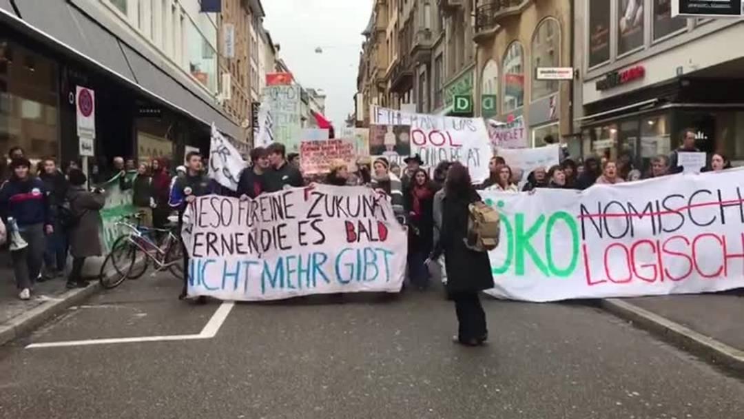 Klimastreik in Basel