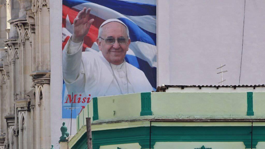 Warten auf den Papst: In Kuba kommt es dank dem Besuch zu einer Internet-Offensive.