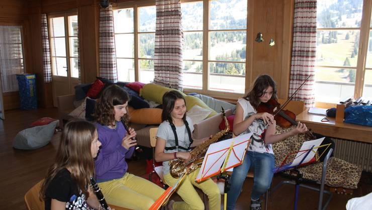 Zu Besuch im Musiklager