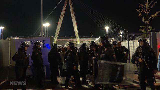 Turin: Polizeigewalt gegen YB-Fans