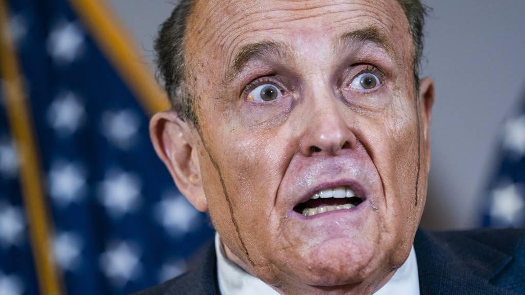 Rudy Giuliani Haarfarbe 2