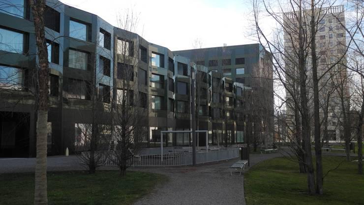 Im Gebiet Rietbach haben Investoren öffentlich zugänglich Parks erstellt.