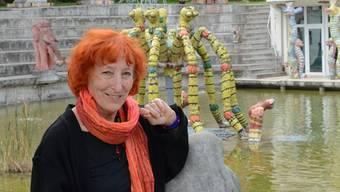 «Wir befinden uns an einem ganz heiklen Punkt», sagt Anna Maria Weber über die gegenwärtige Situation im Skulpturenpark. Dennoch ist sie zuversichtlich, dass das Werk ihres 2011 verstorbenen Mannes noch gerettet werden kann.
