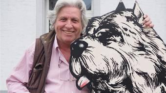 «Viele vergewaltigen ihr Tier in aller Liebe. Sie begreifen nicht, dass ein Hund kein Mensch ist»: René Picard führt die Hundeschule «Philosophie Hund». Thomas Wehrli