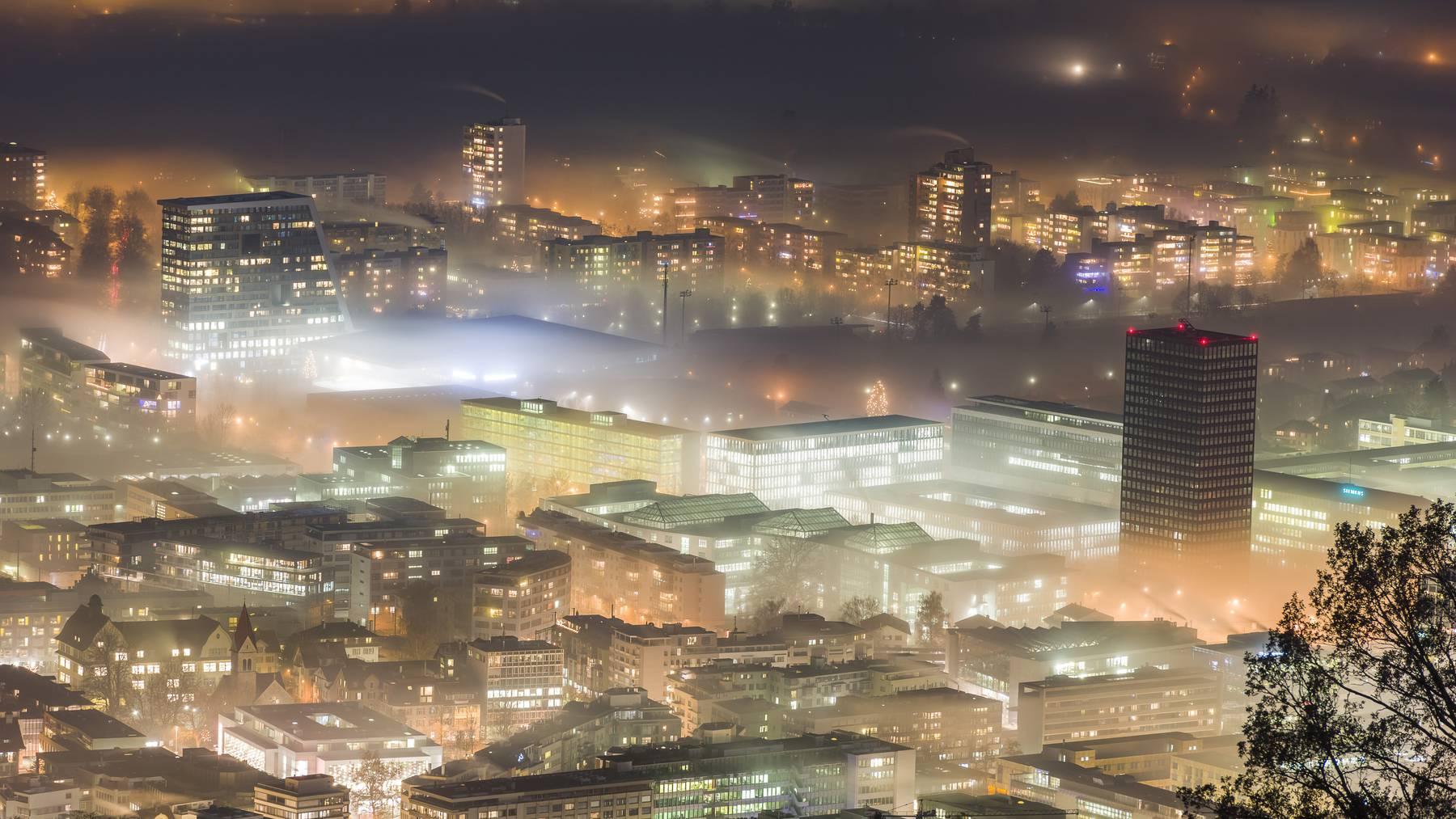 Stadt Zug bleibt finanziell im grünen Bereich