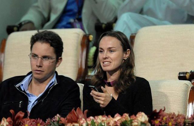 Martina Hingis und Thibault Hutin 2012 (Archiv)