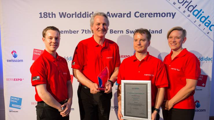 Werft 22 erhält Worlddidac-Award