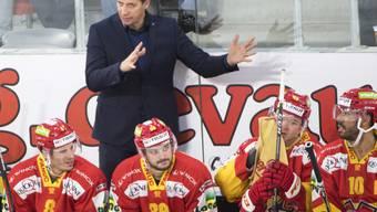Antti Törmänen ist mit seinem EHC Biel auf Erfolgskurs