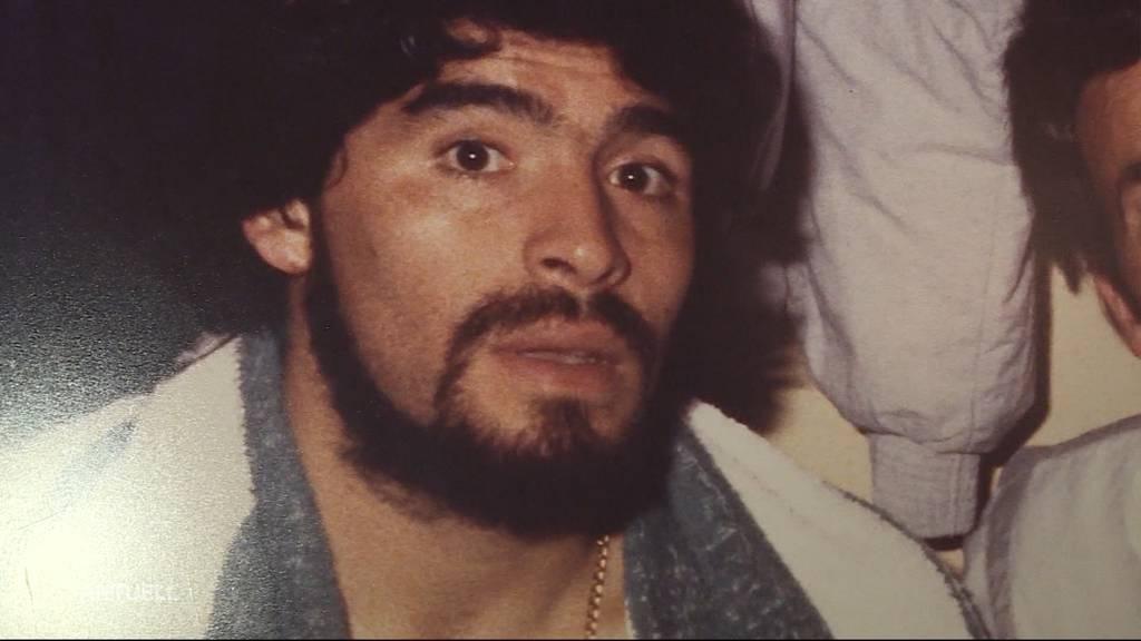 «Hand Gottes»: So erlebten Fussballer aus der Region den verstorbenen Diego Maradona