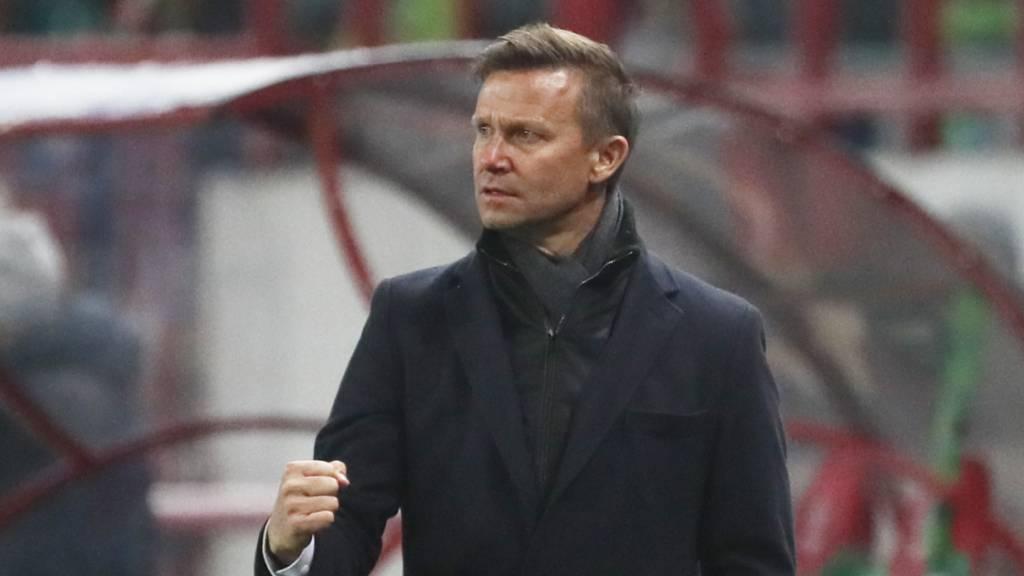 Salzburgs Trainer Marsch soll Nagelsmann Nachfolger werden