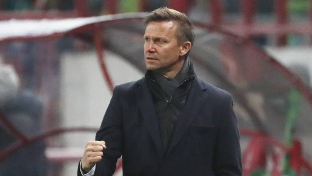Jesse Marsch wie gemäss deutschen Medien Nachfolger von Julian Nagelsmann als Trainer von Leipzig