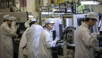 China überholt die USA erstmals bei Zahl der Patentanmeldungen. (Archiv)