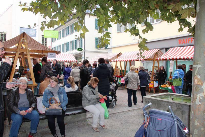 Am Frauenfelder Erntemarkt gibt es Köstlichkeiten aus der Region. (Bild: agro-marketing.ch)