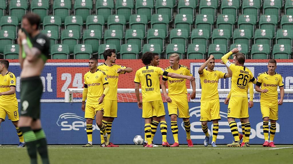 Bayern und Dortmund im Gleichschritt - Mönchengladbach im Pech