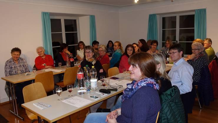 Versammlung Frauenverein