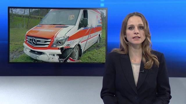 Psychisch Kranker klaut Ambulanz