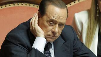 Das Urteil gegen den ehemaligen Italienischen Regierungschef Silvio Berlusconi wird um 17 Uhr erwartet. (Archiv)