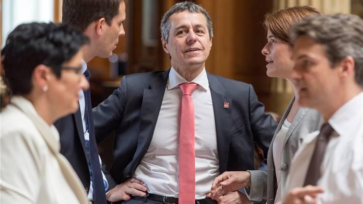 FDP-Fraktionspräsident Ignazio Cassis: «Rauchen stellt ein grosses Problem für die öffentliche Gesundheit dar.»