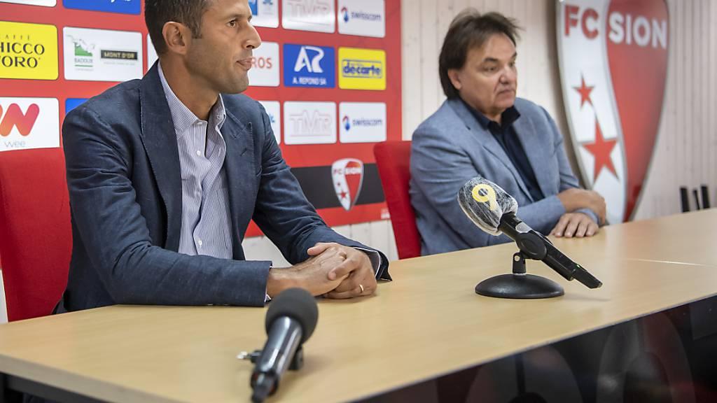 Fabio Grosso und Christian Constantin sind auch in den Niederlagen eine Einheit