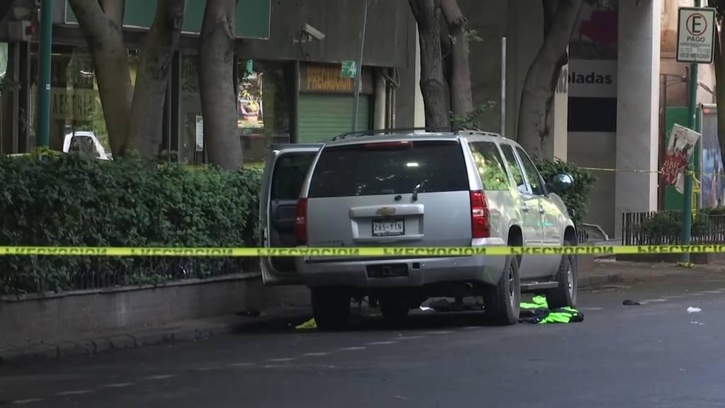 Mexiko-Stadt: Mehrere Tote nach Angriff auf Polizeichef