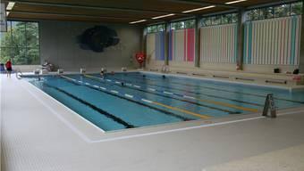 Das Hallenbad Baden nach der letztjährigen Sanierung.