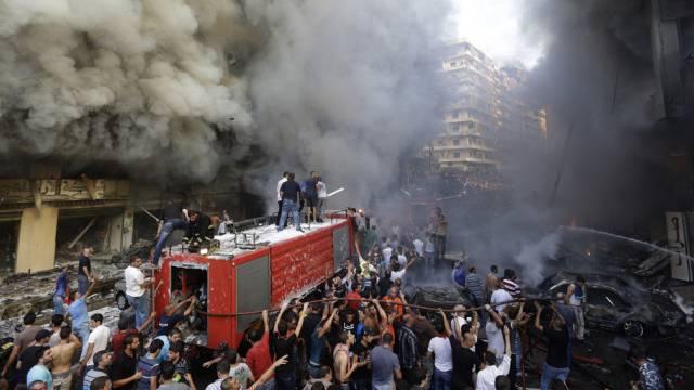 Verheerender Bombenanschlag im Süden von Beirut
