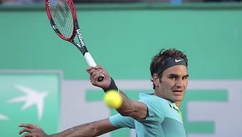 Roger Federer trat erstmals gegen Nick Kyrgios an
