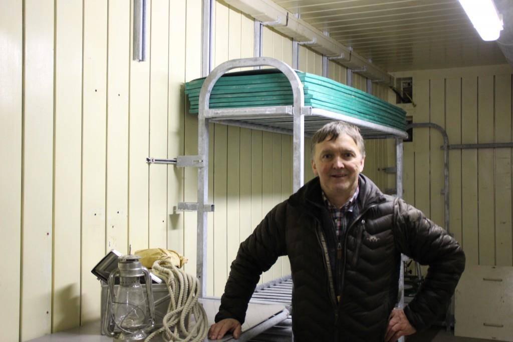 Für einen Franken hat Markus Wetter dem Bund diesen Bunker abgekauft (© FM1Today)