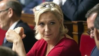 Marine le Pens Partei muss künftig mit einer Million Euro weniger aus öffentlichen Mitteln auskommen.