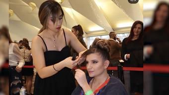 Verheissungsvolle Coiffeuse: Die kurdische Asylbewerberin Lisa Omid gewinnt den Aargauer Hair Cup