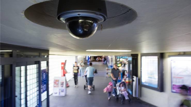 Acht Kameras sorgen in der Unterführung für Sicherheit.