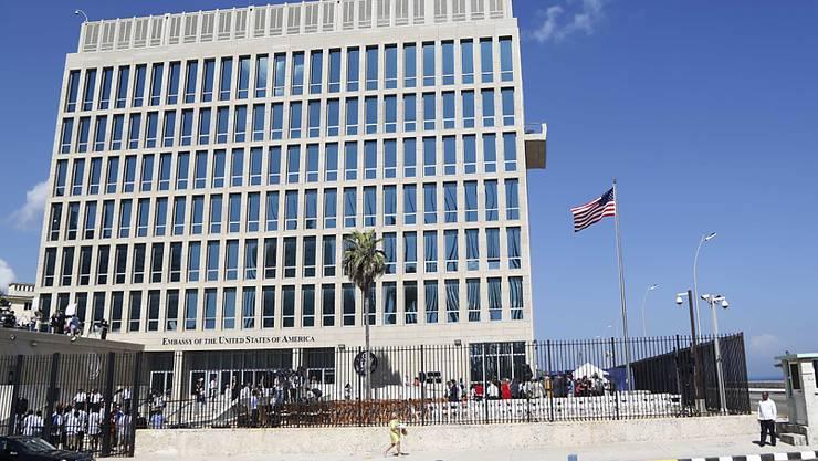 Die US-Botschaft in der kubanischen Hauptstadt Havanna. (Archivbild)