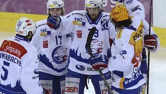 Die Lions sichern sich gegen Langnau drei Punkte.