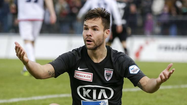 Patrick Rossini verlässt nach vier Jahren den FC Aarau