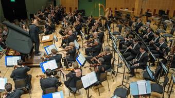 Das Sinfonieorchester Basel unter Chefdirigent Dennis Russell Davies. (Archiv)
