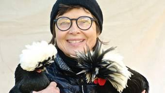 Isabella Rossellini hält auf ihrem Bauernhof auf Long Island Hühner aus aller Herren Ländern.