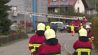Die Feuerwehr, die Polizei und die Ambulanz waren in Buchs im Einsatz.