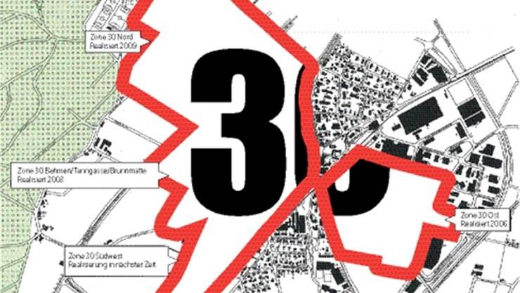 Während Tempo 30 in Oberkulm vom Tisch ist, hat Oberentfelden mit Erfolg sukzessive 30er-Zonen eingeführt. Auf zwei Dritteln des Siedlungsgebiets gilt hier reduziertes Tempo.