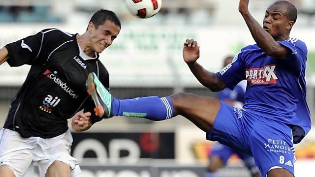 Marko Basic schiesst mit seinem 2:1-Treffer Lugano auf Rang 2.