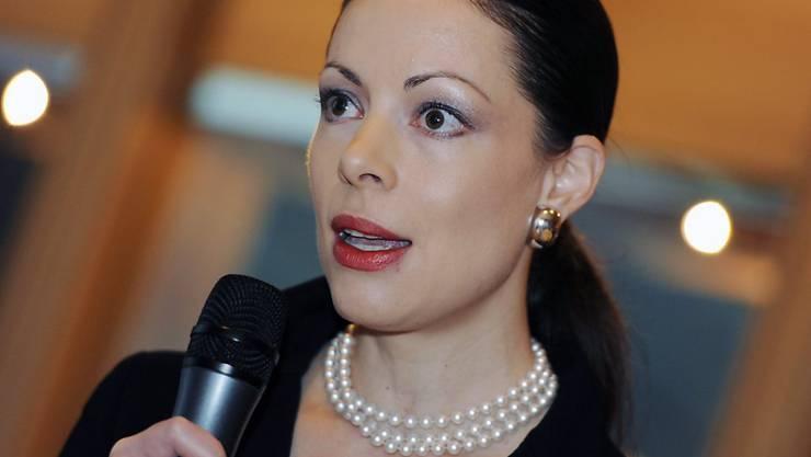 An der Spitze von Pharmaunternehmen sind Frauen besser vertreten als in typischen Frauenbranchen wie dem Detailhandel. Ein Beispiel dafür ist Rebecca Guntern Flückiger, Chefin von Sandoz Schweiz, Österreich und Belgien. (Archiv)