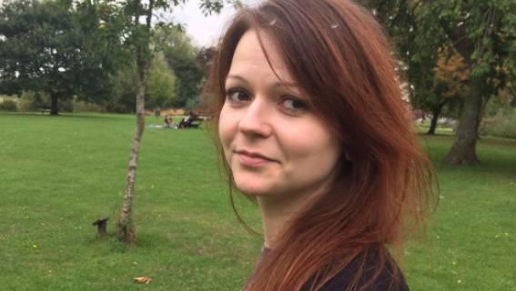 Julia Skripal geht es nach dem Giftanschlag wieder besser. Auf dem Foto sieht man die 33-Jährige auf einem Facebook-Bild.