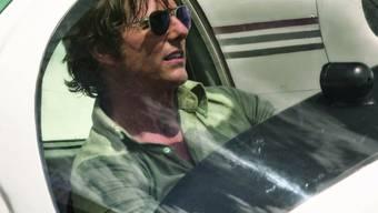 """Tom Cruise spielt in """"American Made"""" einen waghalsigen Drogenpiloten. Der erste Trailer ist soeben erschienen. (Handout)"""