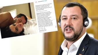 Matteo Salvini muss die Trennung seiner Freundin verkraften.