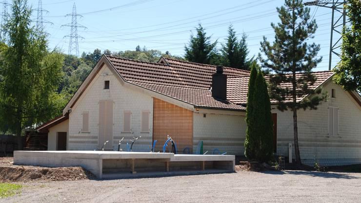 Das bestehende Schützenhaus wird um einen Anbau erweitert. Das Vereinslokal mit Erweiterungsbau erhält zudem eine ganzheitliche Heizung. sh