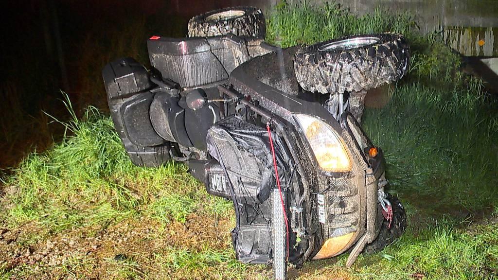 22-Jähriger stirbt bei Quad-Unfall