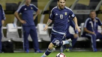 Gibt den Rücktritt vom Rücktritt: Ausnahmekönner Lionel Messi