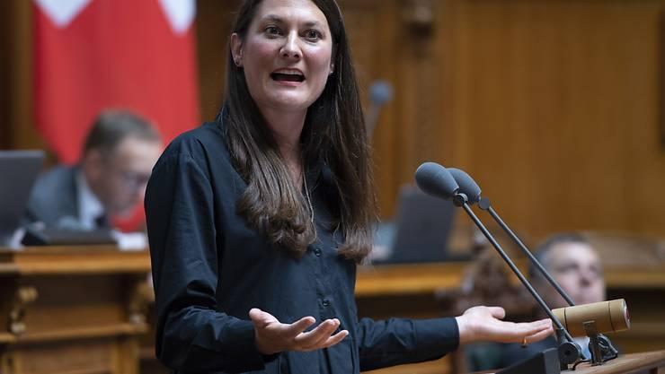Tiana Angelina Moser will den Ratssaal wechseln. Die GLP-Nationalrätin wird im Herbst um einen der beiden Zürcher Ständeratssitze kämpfen. (Archivbild)