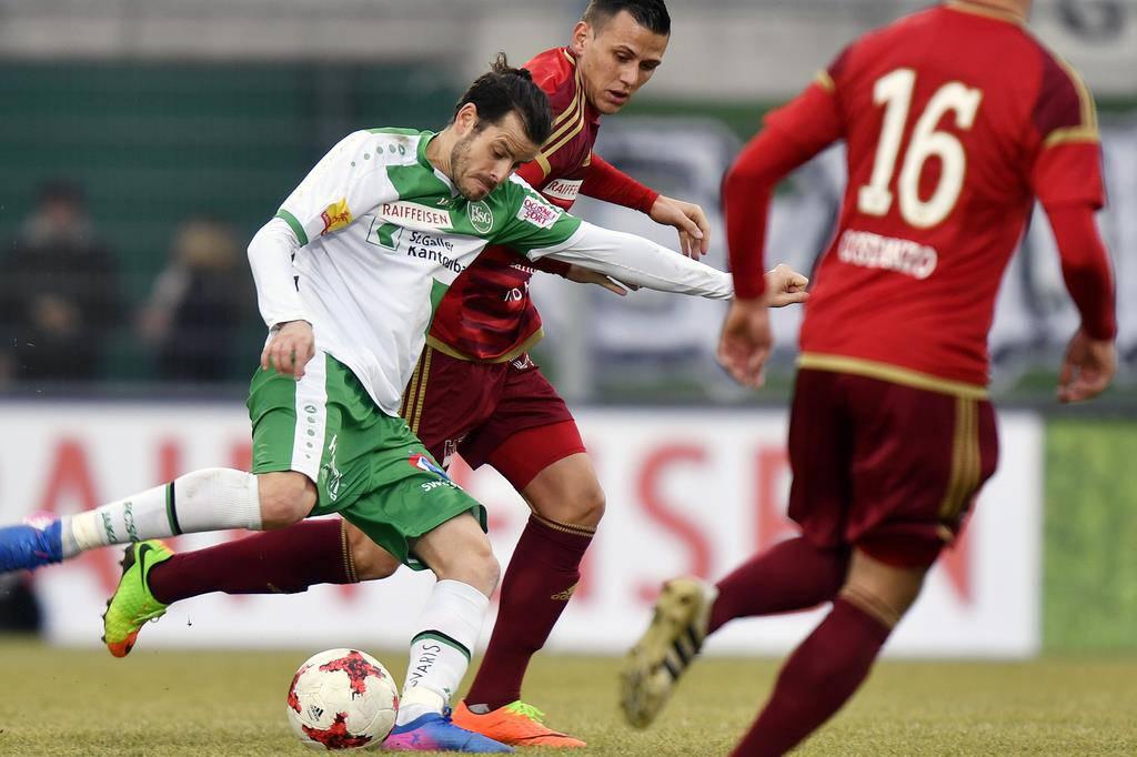 FC St.Gallen - FC Vaduz (© Keystone)