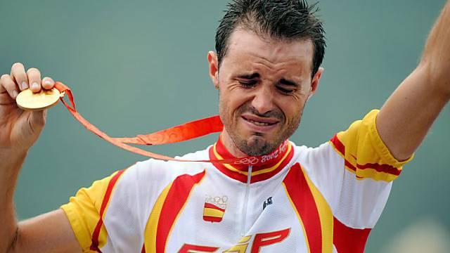 Das war vor vier Jahren: Samuel Sanchez holt Olympia-Gold.